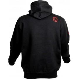 Quantum pulóver Tournament Hoodie fekete/piros