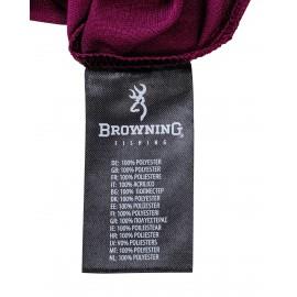 Browning póló Shirt Dry Fit fekete/bordó